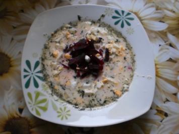 Russische Rindfleischsuppe - Rezept
