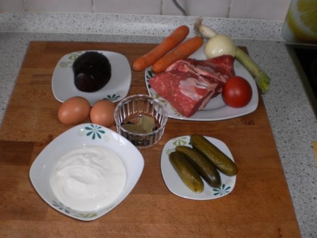 Russische Rindfleischsuppe - Rezept - Bild Nr. 2