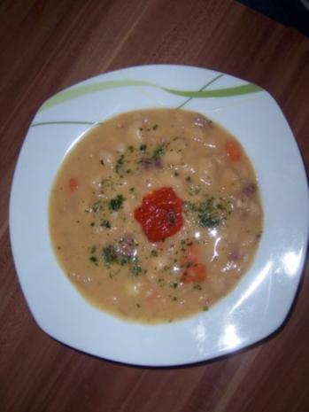 Serbische Bohnensuppe - Rezept