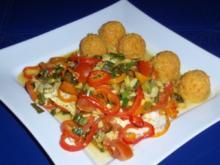 Fisch-Gemüse aus dem Backofen mit Basmati-Reis - Rezept