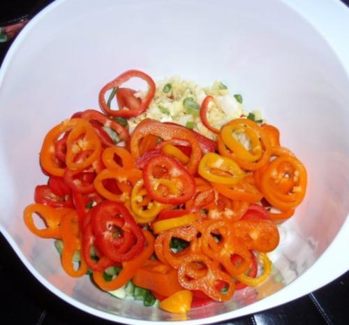 Fisch-Gemüse aus dem Backofen mit Basmati-Reis - Rezept - Bild Nr. 6