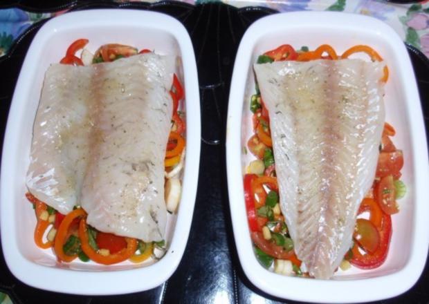Fisch-Gemüse aus dem Backofen mit Basmati-Reis - Rezept - Bild Nr. 10