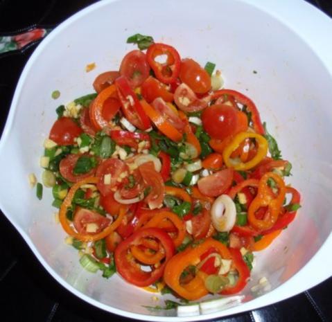 Fisch-Gemüse aus dem Backofen mit Basmati-Reis - Rezept - Bild Nr. 8