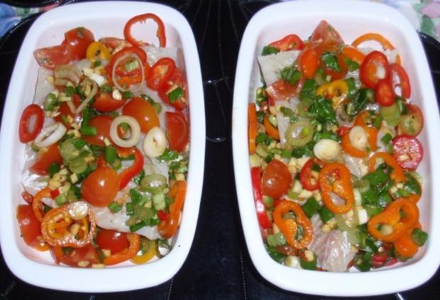 Fisch-Gemüse aus dem Backofen mit Basmati-Reis - Rezept - Bild Nr. 11