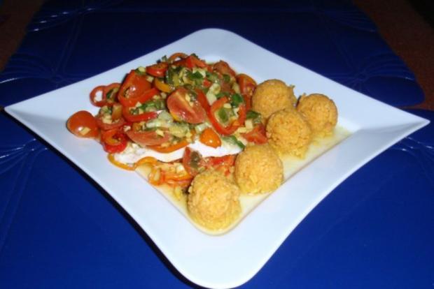 Fisch-Gemüse aus dem Backofen mit Basmati-Reis - Rezept - Bild Nr. 14