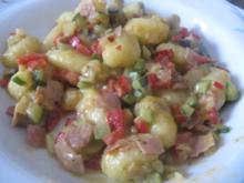 Gnocchi-Pfanne mit Zucchini und Paprika - Rezept