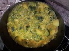Grüner Eintopf mit Knoblauch + frischem März-Gemüse - Rezept