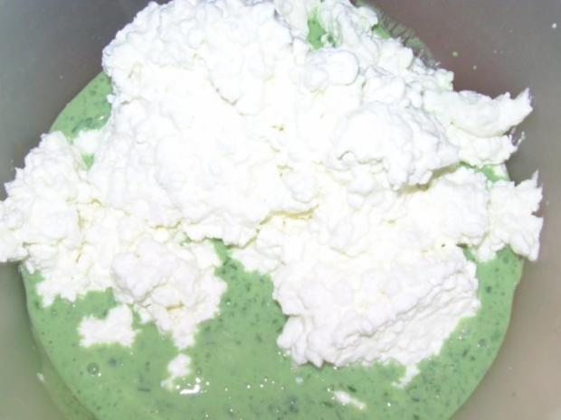 Bärlauch-Hüttenkäse - Rezept - Bild Nr. 3