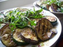 Zucchini - Auberginen Teller - Rezept