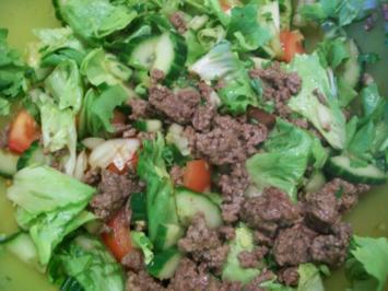 Fleisch Salat - Rezept