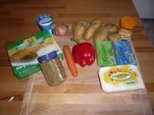 Weiße Hähnchen-Gemüsesuppe - Rezept