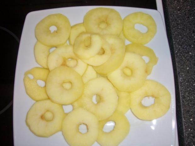 Schoko-Himbeer Äpfel himmlisch gebettet auf Vanille - Rezept - Bild Nr. 9