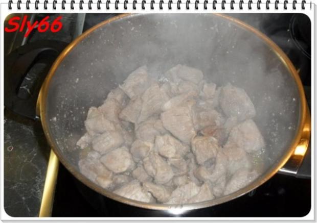 Fleischgerichte:Schweinegulasch - Rezept - Bild Nr. 7