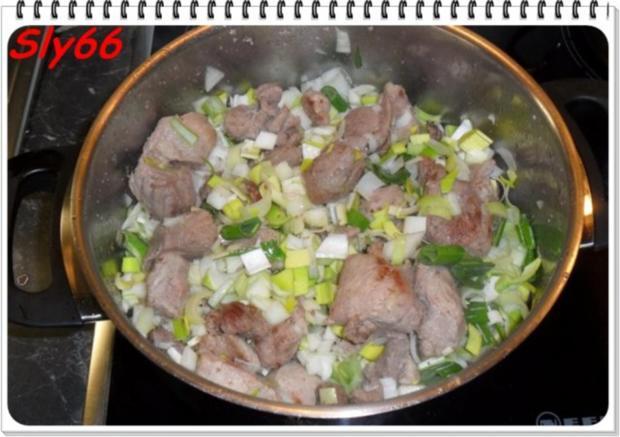 Fleischgerichte:Schweinegulasch - Rezept - Bild Nr. 9