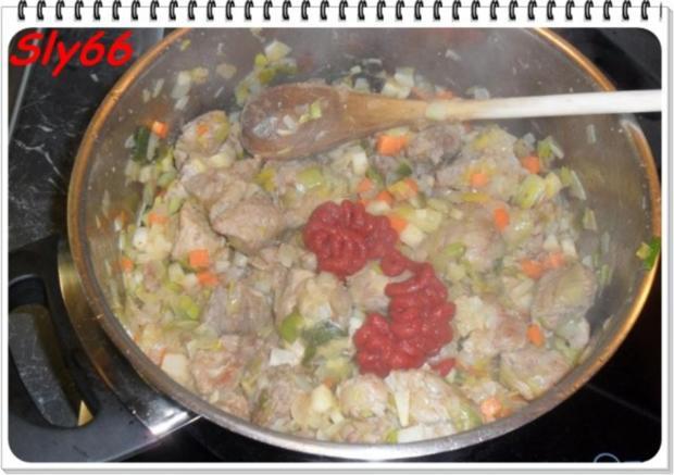 Fleischgerichte:Schweinegulasch - Rezept - Bild Nr. 11