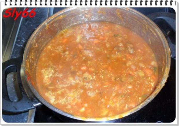 Fleischgerichte:Schweinegulasch - Rezept - Bild Nr. 13