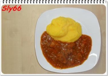 Rezept: Fleischgerichte:Schweinegulasch