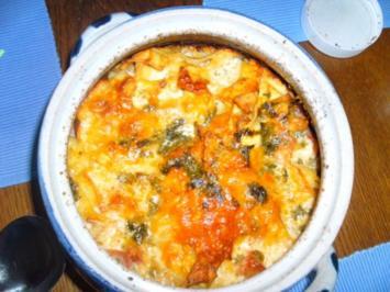 Bretonischer-Schinken-Nudel-Auflauf - Rezept