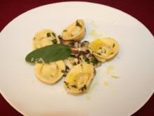 Cappelletti mit Edelpilzen - Rezept