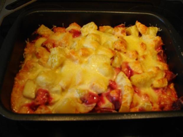 Rosarote Überraschung - Rote Beete-Süßkartoffel-Auflauf - Rezept - Bild Nr. 2