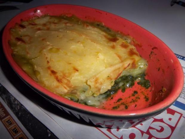 Kartoffel-Spinat-Auflauf - Rezept