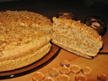 Krokant-Walnuss-Torte - Rezept