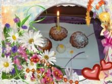 Kuchen : Mit Eierlikör und Raffaellos - Rezept