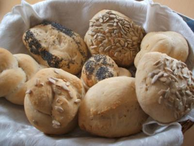 Brot/Brötchen: Sonntagsbrötchen - Rezept