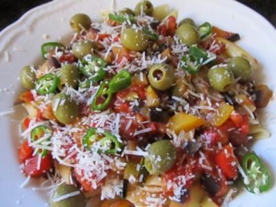 Sizilianische Nudeln - Rezept