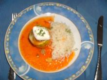 Zucchini-Türmchen - Rezept
