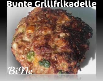 BiNe` S BUNTE GRILLFRIKADELLEN - Rezept