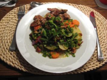 kartoffeltopf mit pfifferlingen (kalorienarm und knackig) - Rezept - Bild Nr. 2