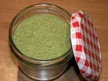 Kräutersalz, selbstgemacht - Rezept