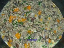 Kochen: Pilz-Hackfleisch-Pfanne II - Rezept