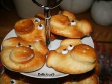 Silvester - Glücksschweinchen Quark - Öl - Teig - Rezept