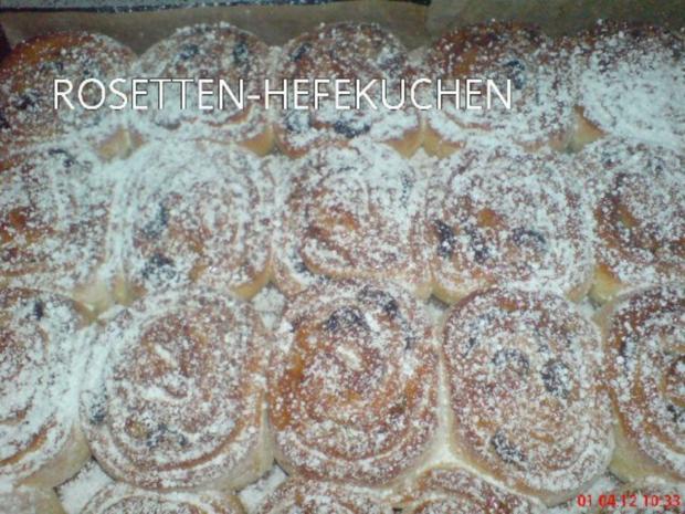 ROSETTEN - HEFEKUCHEN - Rezept - Bild Nr. 2