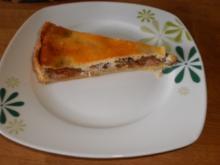 Pflaumenkuchen mit Rahmguss - Rezept