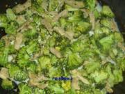 Kochen: Schweine-Geschnetzeltes mit Broccoli - Rezept