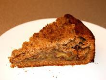 Apfelstreuselkuchen aus Vollkornmehl - Rezept