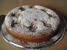 Birnenkuchen mit Kaba - Rezept