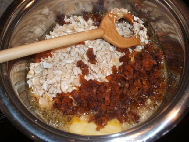 Plätzchen: Cashew-Kern-Krokant mit Aprikosen - Rezept - Bild Nr. 4