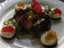 Frühlingssalat mit Ziegenkäsetaler - Rezept