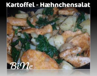 BiNe` S KARTOFFEL - HÆHNCHENSALAT - Rezept
