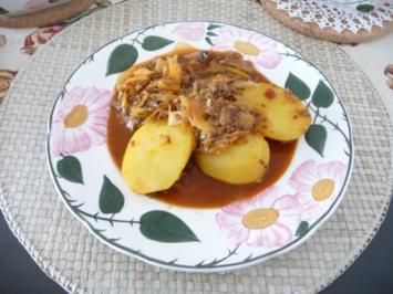 Hackfleisch : Weißkohl - Hackpfanne - Rezept