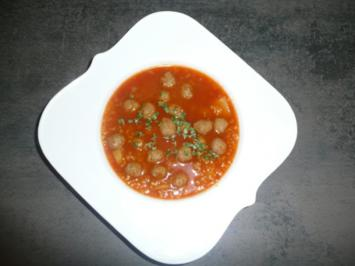 Pearl Barley Soup - Hot and spicy - Rezept