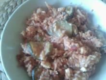 Zucchini-Feta-Pfanne - Rezept
