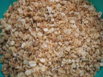 Vorrat: Haferflocken-Krokant - Rezept