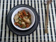 Huhn mit Cashewnüssen - Rezept