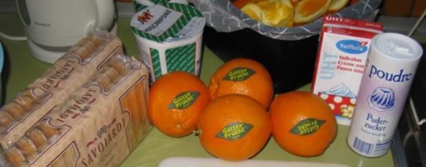 Orangen - Tiramisu - Rezept