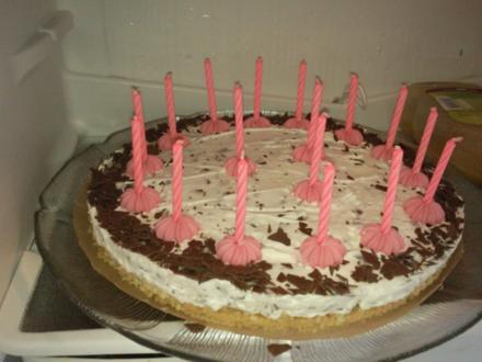 Stracciatella-Schoko-Torte - Rezept